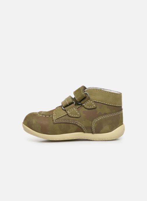 Boots en enkellaarsjes Kickers Bonkro Groen voorkant