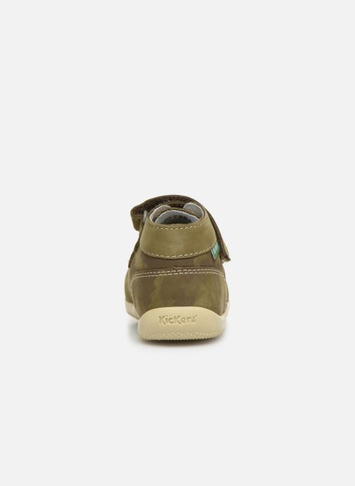Bottines et boots Kickers Bonkro Vert vue droite