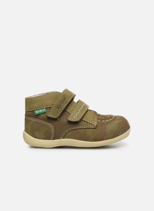 Boots en enkellaarsjes Kickers Bonkro Groen achterkant