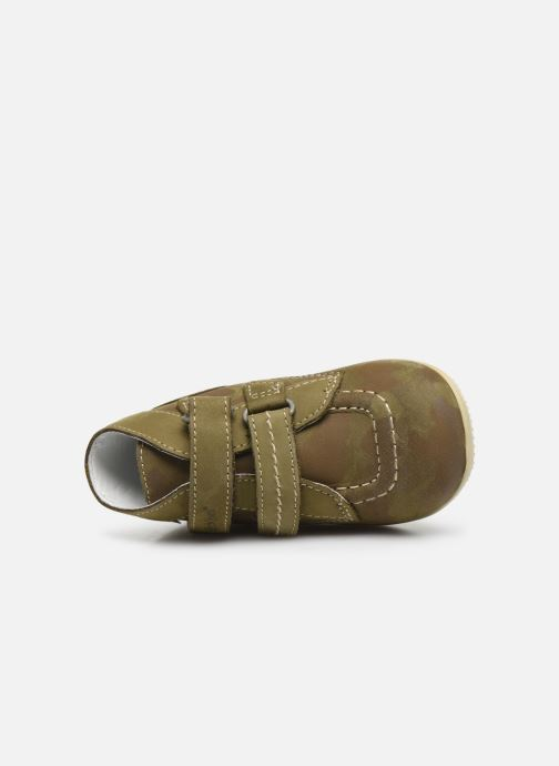 Boots en enkellaarsjes Kickers Bonkro Groen links