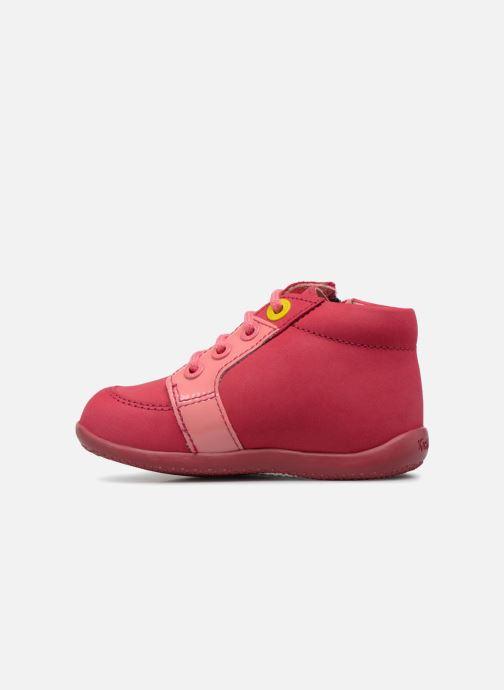 Boots en enkellaarsjes Kickers Boucan Roze voorkant