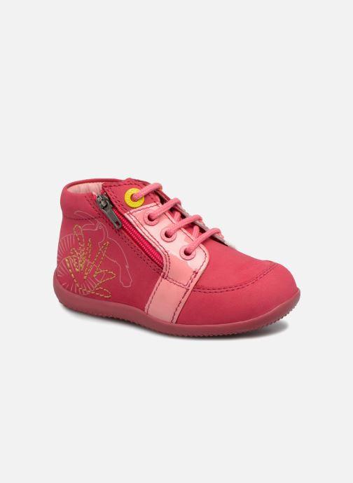 Boots en enkellaarsjes Kickers Boucan Roze detail