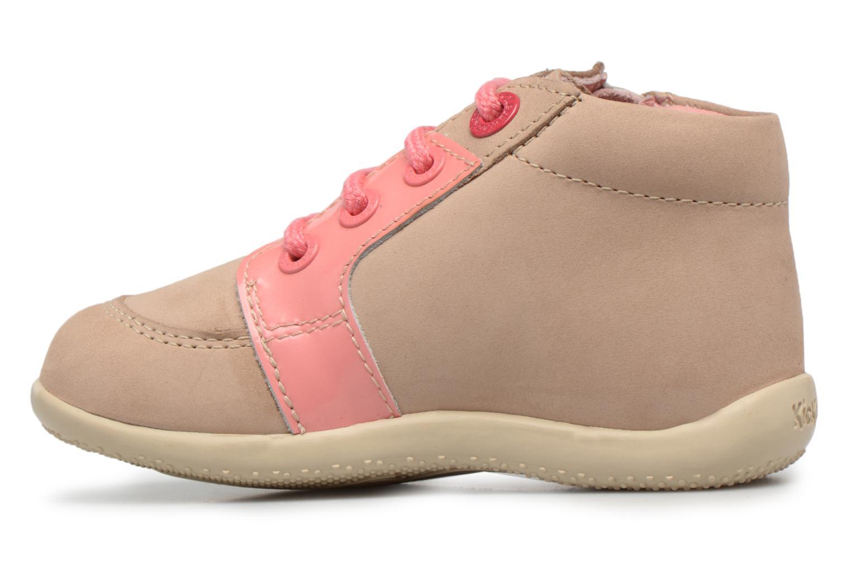 Boots en enkellaarsjes Kickers Boucan Beige voorkant