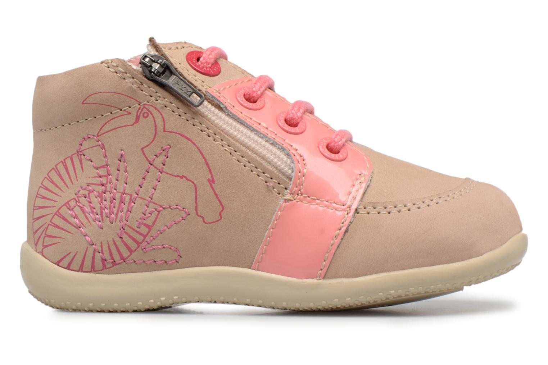 Boots en enkellaarsjes Kickers Boucan Beige achterkant