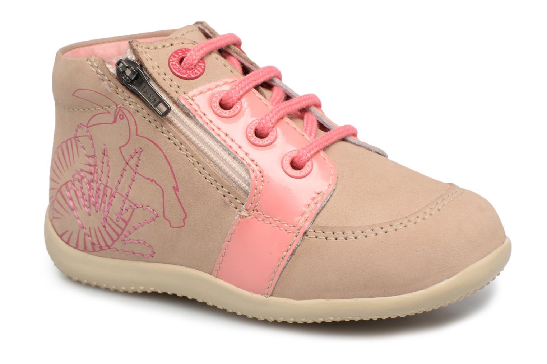 Boots en enkellaarsjes Kickers Boucan Beige detail
