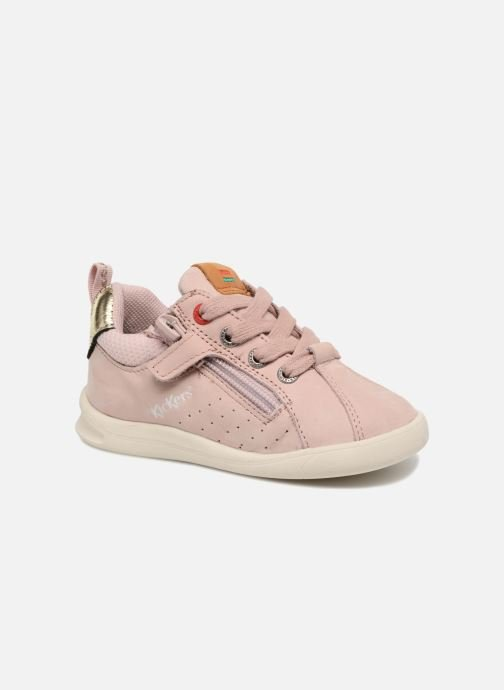 Baskets Kickers Chicago Bb Rose vue détail/paire