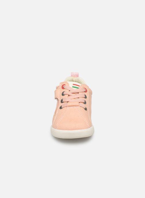 Sneaker Kickers Chicago Bb rosa schuhe getragen