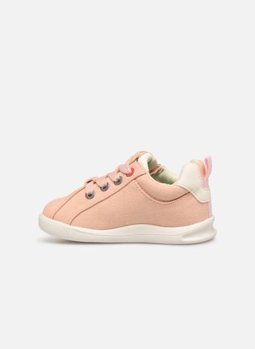 Sneakers Kickers Chicago Bb Roze voorkant