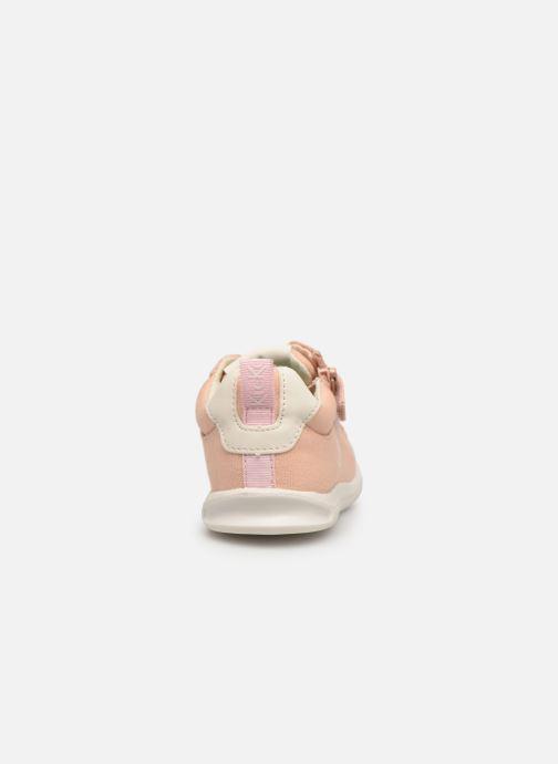 Sneaker Kickers Chicago Bb rosa ansicht von rechts