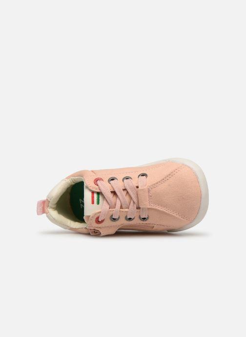 Sneaker Kickers Chicago Bb rosa ansicht von links