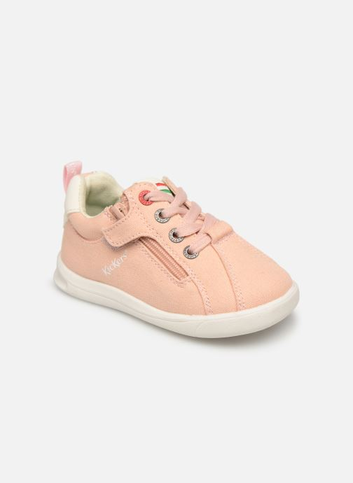 Sneakers Kickers Chicago Bb Roze detail