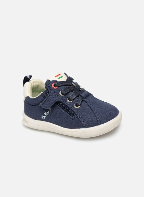 Baskets Kickers Chicago Bb Bleu vue détail/paire