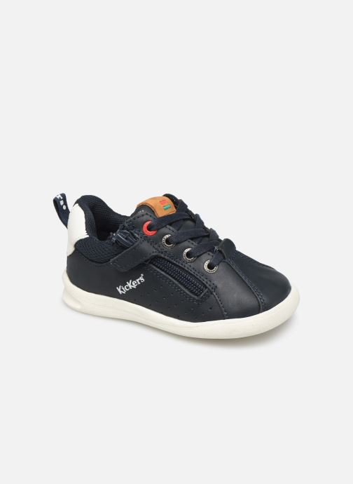 Sneakers Kickers Chicago Bb Blauw detail