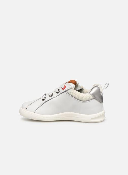 Sneakers Kickers Chicago Bb Wit voorkant