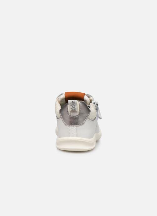 Sneakers Kickers Chicago Bb Wit rechts