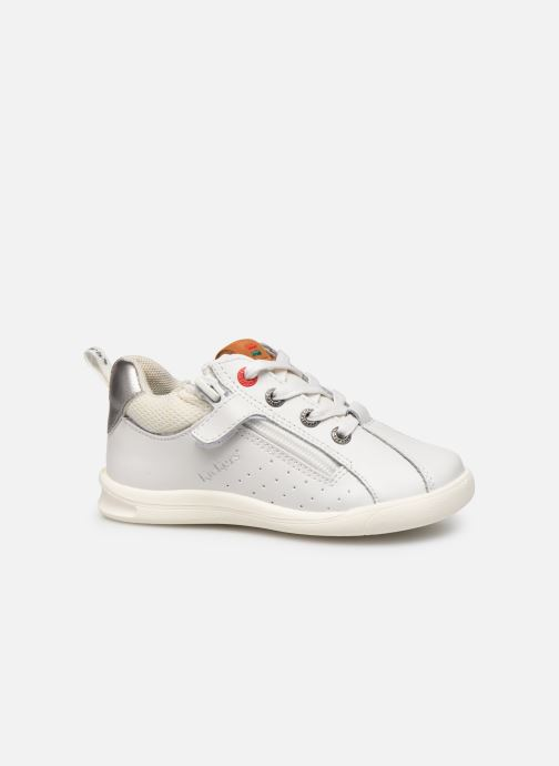 Sneakers Kickers Chicago Bb Wit achterkant