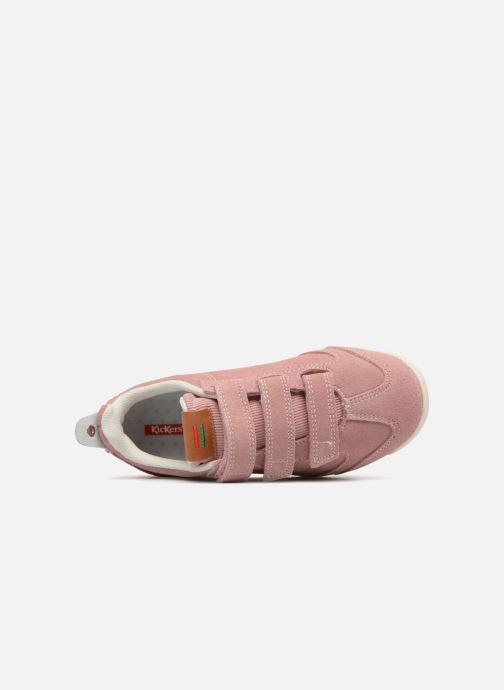 Sneakers Kickers Kick 18 Cdt Pink se fra venstre