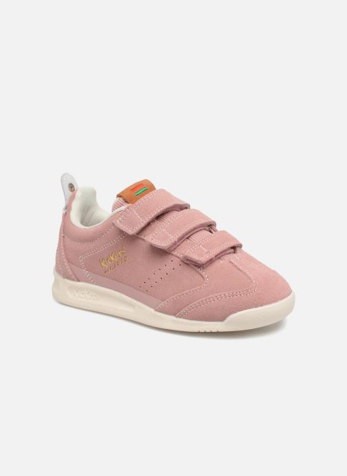 Baskets Kickers Kick 18 Cdt Rose vue détail/paire