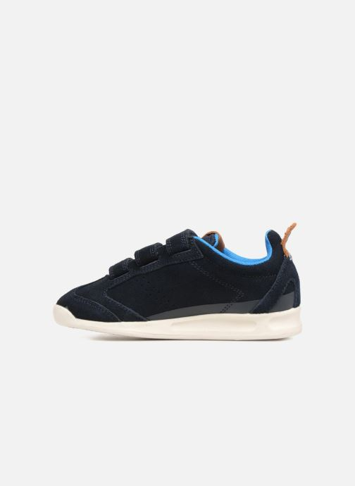 Sneakers Kickers Kick 18 Cdt Azzurro immagine frontale