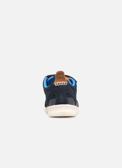 Sneakers Kickers Kick 18 Cdt Azzurro immagine destra