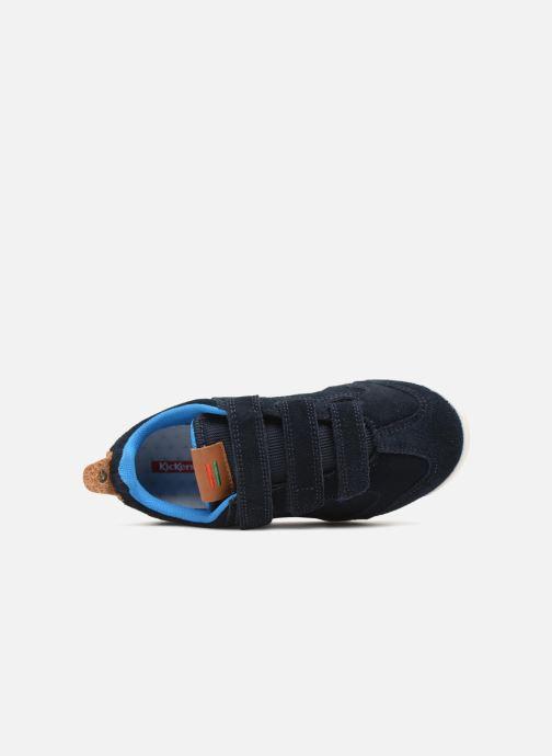 Sneakers Kickers Kick 18 Cdt Azzurro immagine sinistra