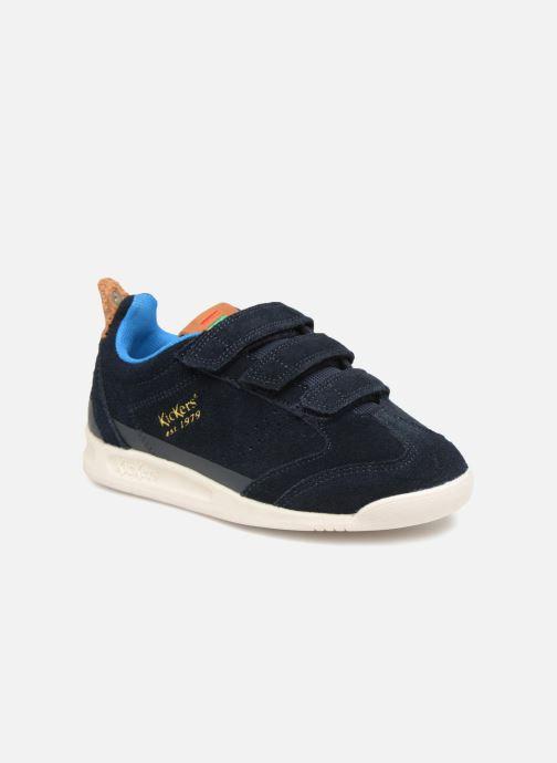 Sneakers Kickers Kick 18 Cdt Azzurro vedi dettaglio/paio