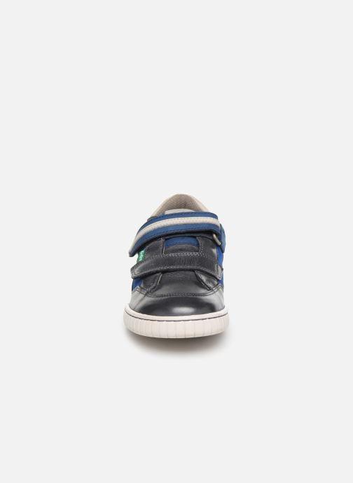 Baskets Kickers Wikette Gris vue portées chaussures
