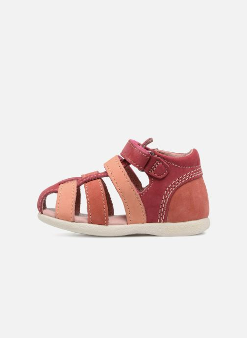 Sandali e scarpe aperte Kickers Babychan Rosa immagine frontale