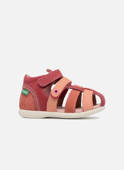 Sandalen Kickers Babychan Roze achterkant