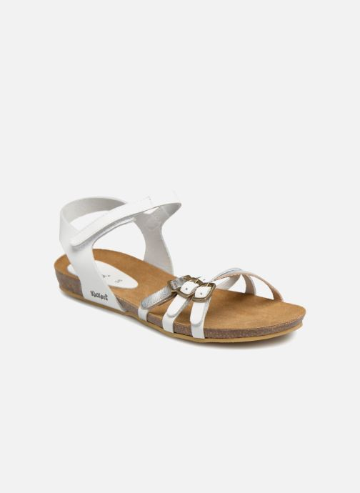 2ea2f2d7a6de7e Kickers Bonavista (Blanc) - Sandales et nu-pieds chez Sarenza (321693)