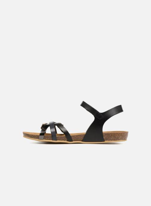 Sandales et nu-pieds Kickers Bonavista Noir vue face