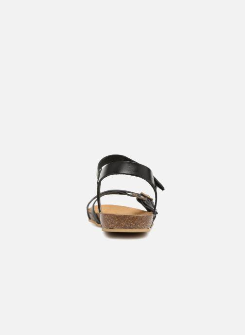 Sandales et nu-pieds Kickers Bonavista Noir vue droite