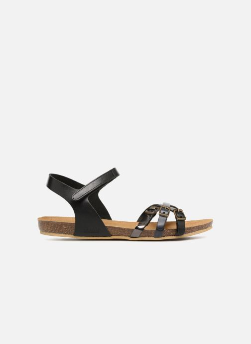 Sandales et nu-pieds Kickers Bonavista Noir vue derrière