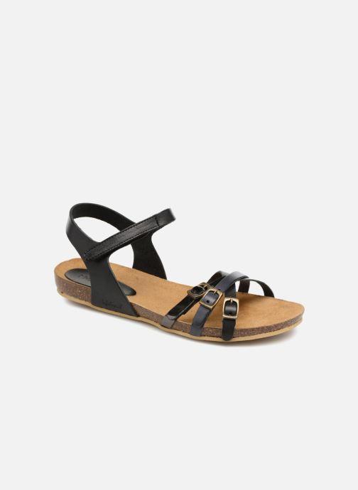 Sandales et nu-pieds Kickers Bonavista Noir vue détail/paire