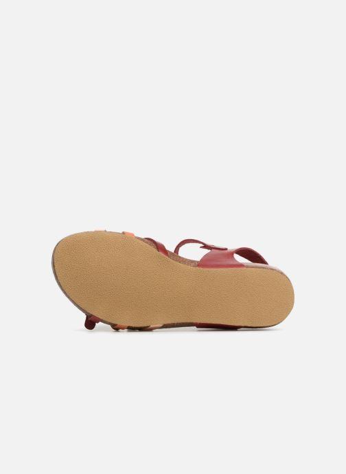 Sandaler Kickers Bonavista Rød se foroven