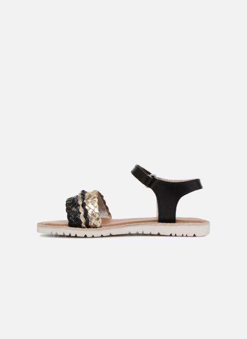 Sandalen Kickers Bradway Zwart voorkant