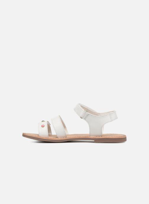 Sandalen Kickers Diablotin Wit voorkant