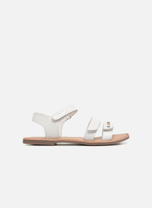 Sandalen Kickers Diablotin Wit achterkant