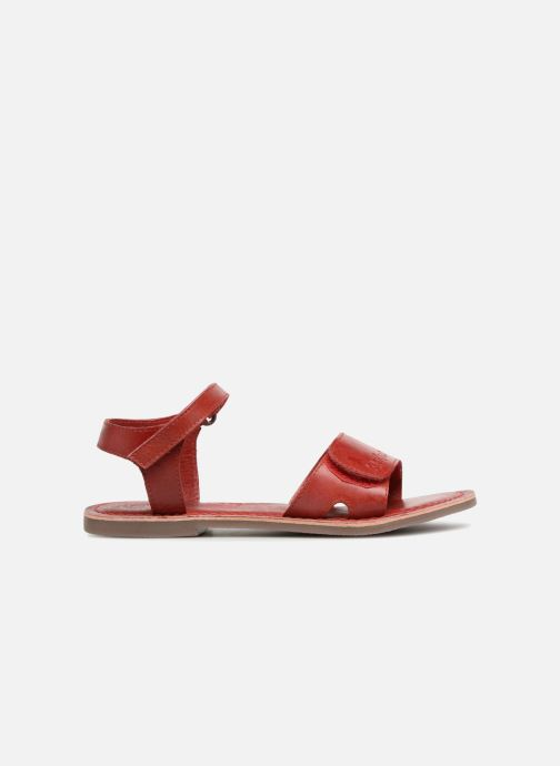Sandales et nu-pieds Kickers Diese Rouge vue derrière