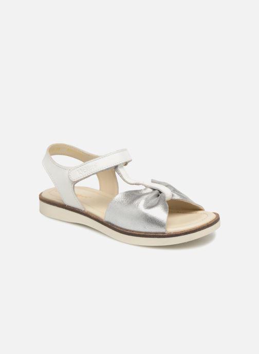 Sandales et nu-pieds Kickers Giucy Argent vue détail/paire