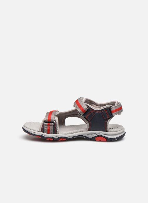 Sandales et nu-pieds Kickers Kiwi Bleu vue face