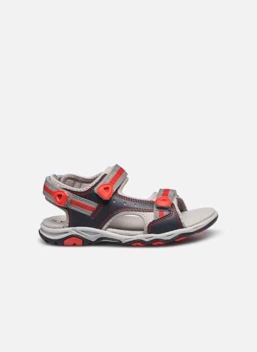 Sandales et nu-pieds Kickers Kiwi Bleu vue derrière