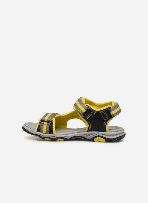Sandales et nu-pieds Kickers Kiwi Noir vue face