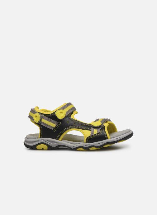 Sandales et nu-pieds Kickers Kiwi Noir vue derrière