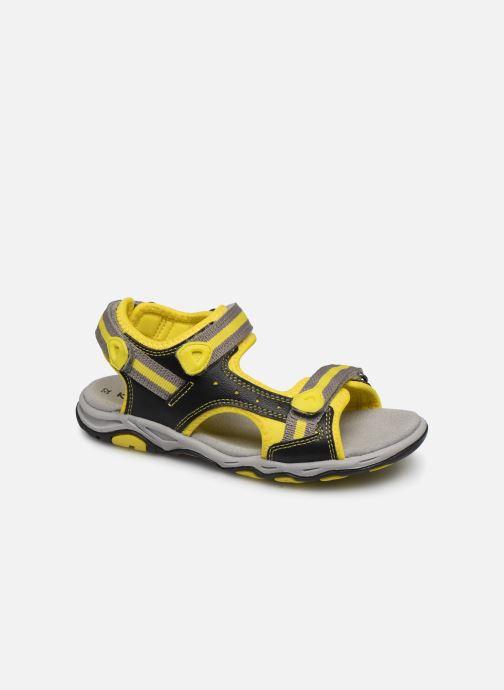 Sandales et nu-pieds Kickers Kiwi Noir vue détail/paire