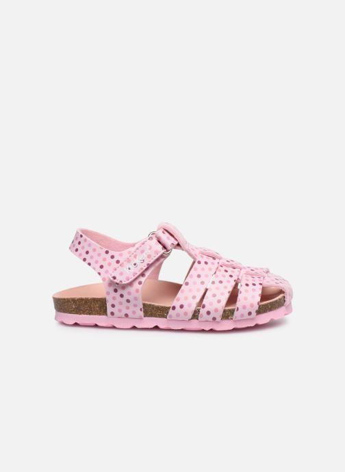 Sandales et nu-pieds Kickers Summertan Rose vue derrière