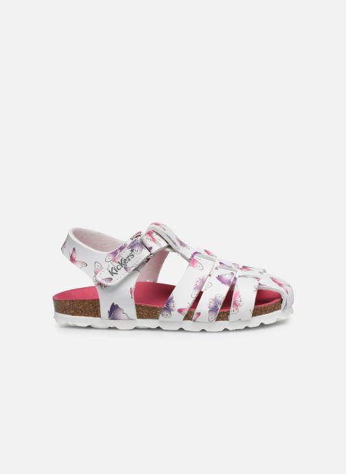 Sandales et nu-pieds Kickers Summertan Blanc vue derrière