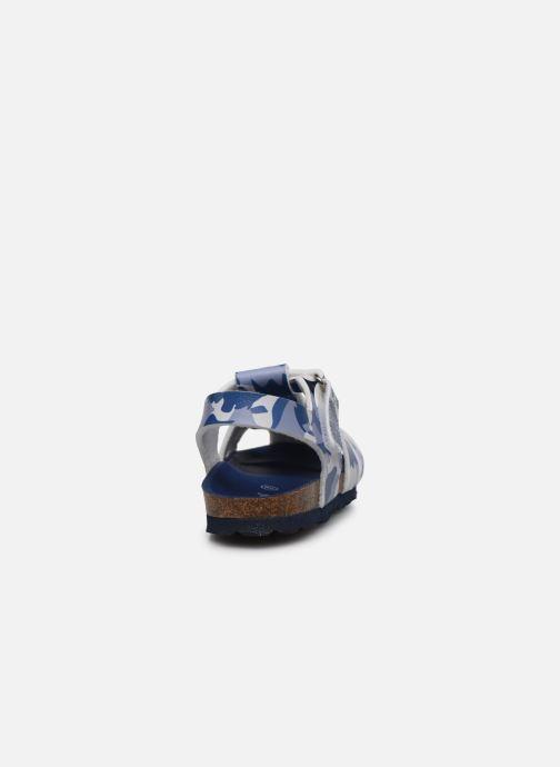 Sandales et nu-pieds Kickers Summertan Bleu vue droite