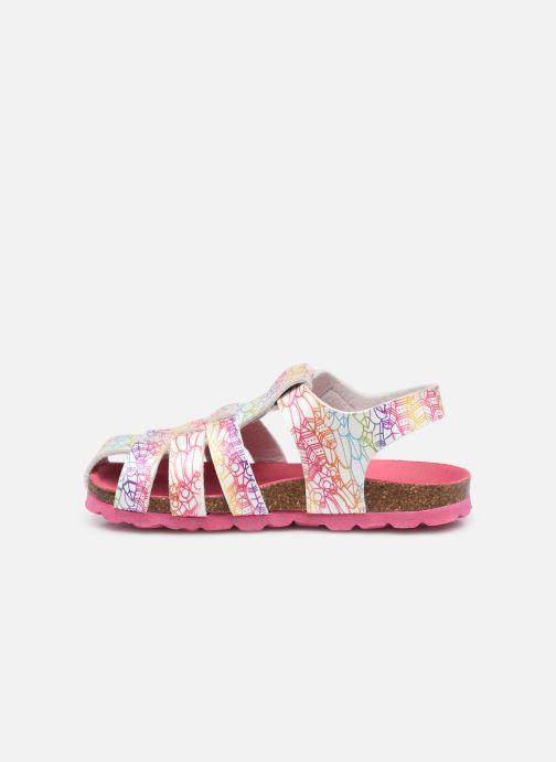 Sandales et nu-pieds Kickers Summertan Blanc vue face