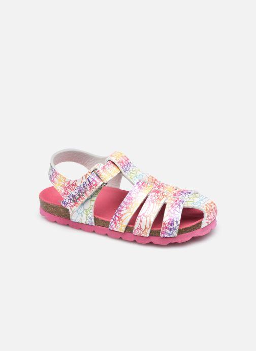 Sandales et nu-pieds Kickers Summertan Blanc vue détail/paire